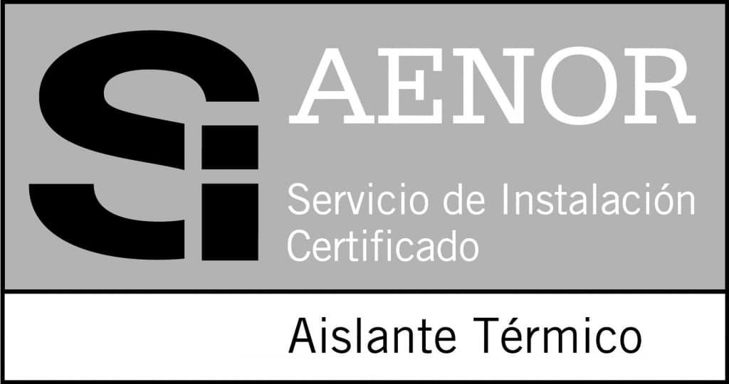 Certificado AENOR Marca SI Aislante Térmico