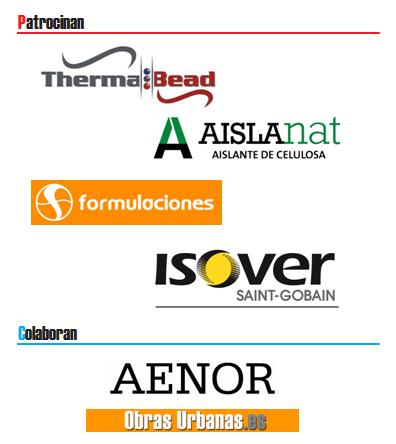 Patrocinadores y Colaboradores del 1º Jornada Temática AISLA de Instalación de Aislamiento en Cámara de Aire
