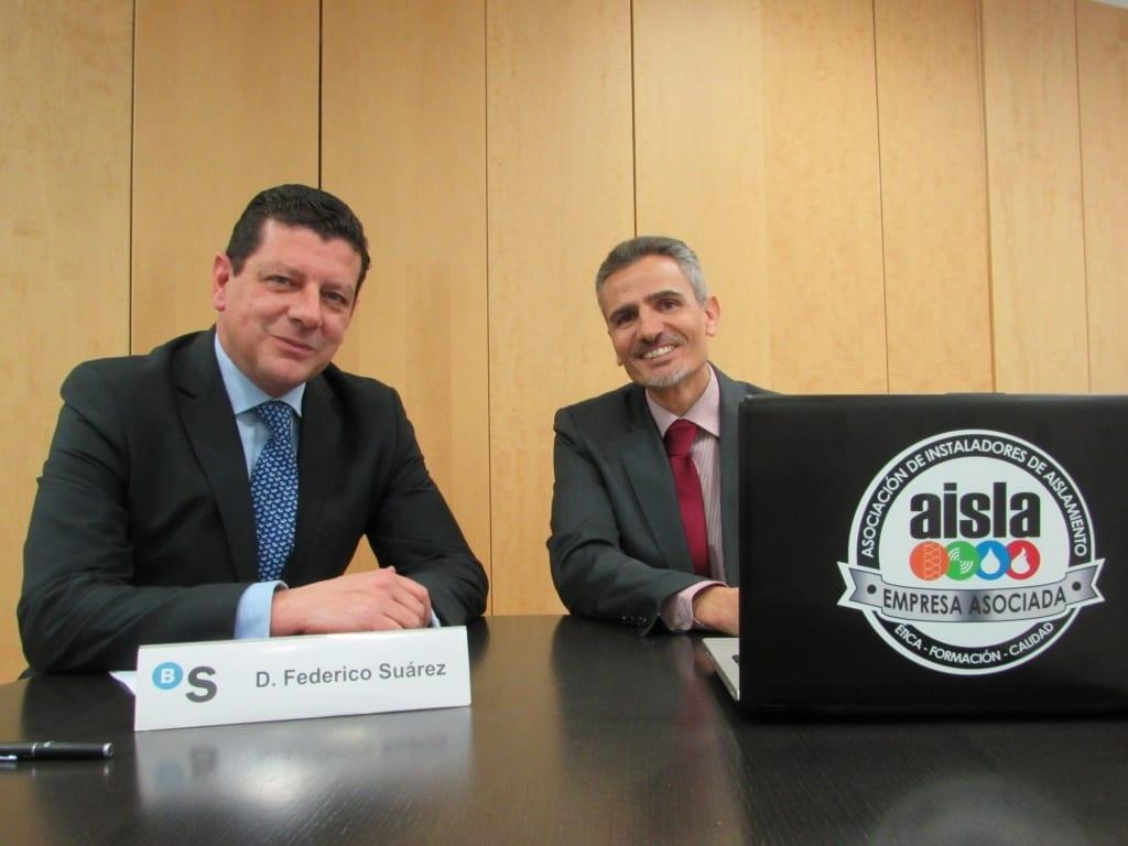 Federico Suárez y Alvaro Pimentel
