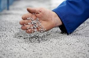 Perlas de EPS con grafito a granel (Fuente ANAPE)