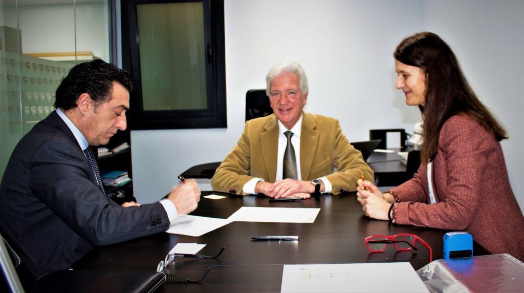 Firma del Acuerdo entre Caloryfrío y AISLA